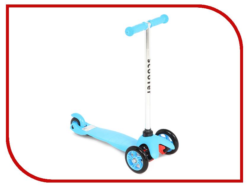 Самокат Lider Kids JC-206 Blue lefard фоторамка vortigern 3х37х43 см