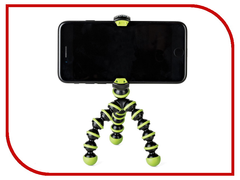 Zakazat.ru: Штатив Joby GorillaPod Mobile Mini Black-Green JB01519-0WW