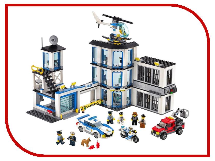 Конструктор Lego City Полицейский участок 60141 models building toy compatible with lego city series 60141 965pcs police station building blocks toys
