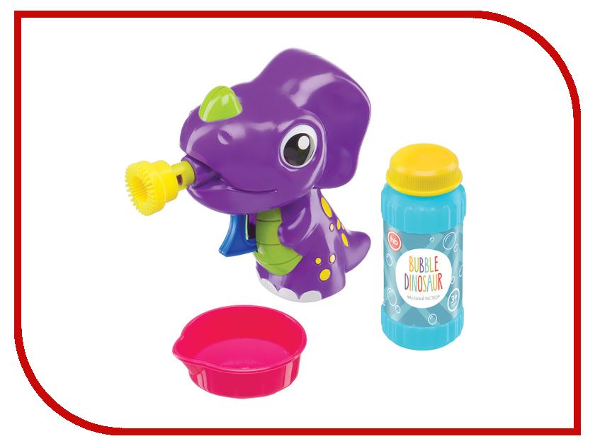 Игрушка Happy Baby Bubble Dinosaur набор для мыльных пузырей 330407