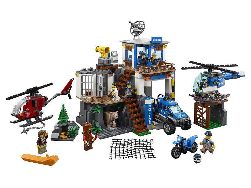 Конструктор Lego City Полицейский участок в горах 60174