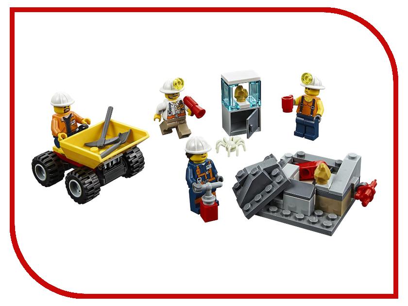 Конструктор Lego City Бригада шахтеров 60184