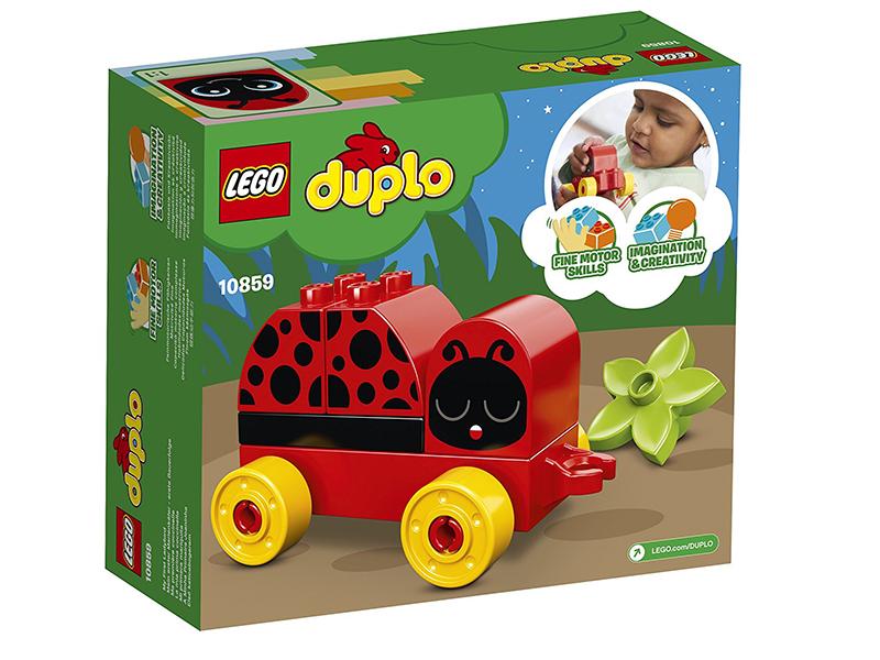 Конструктор Lego Duplo Моя первая божья коровка 10859 lego lego duplo моя первая карусель