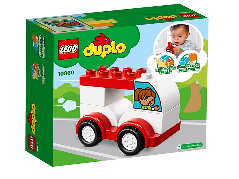 Конструктор Lego Duplo Мой первый гоночный автомобиль 10860
