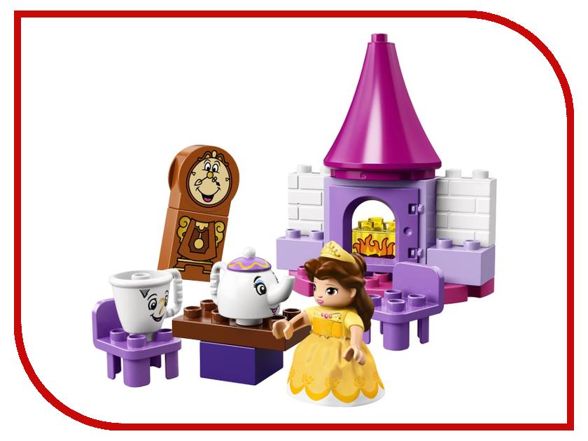 Конструктор Lego Duplo Чаепитие у Белль 10877 конструктор lego brick headz белль 41595