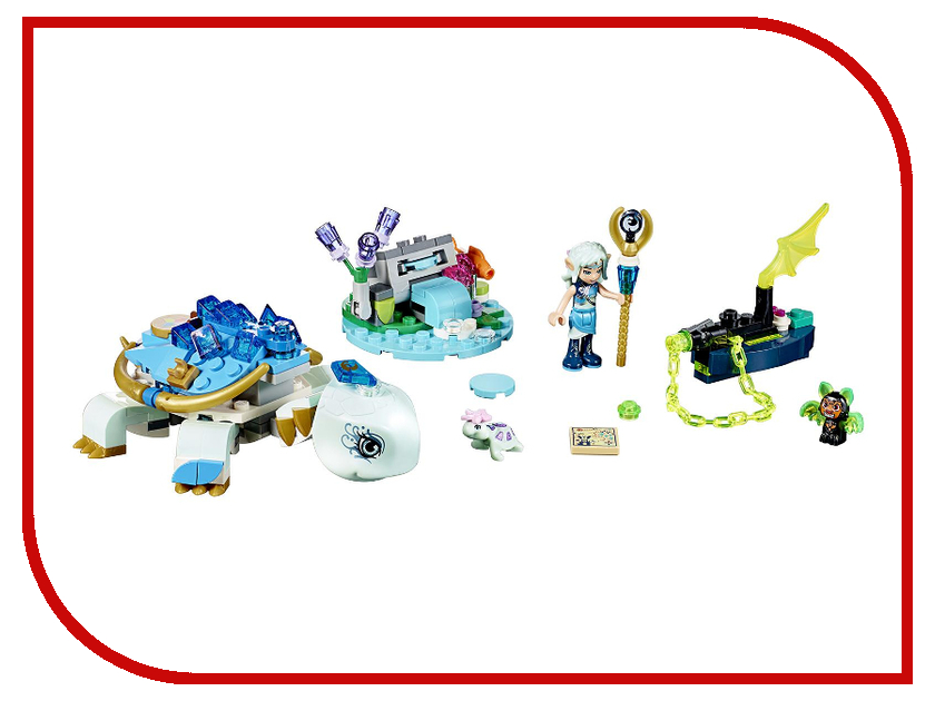 Конструктор Lego Elves Засада Наиды и водяной черепахи 41191