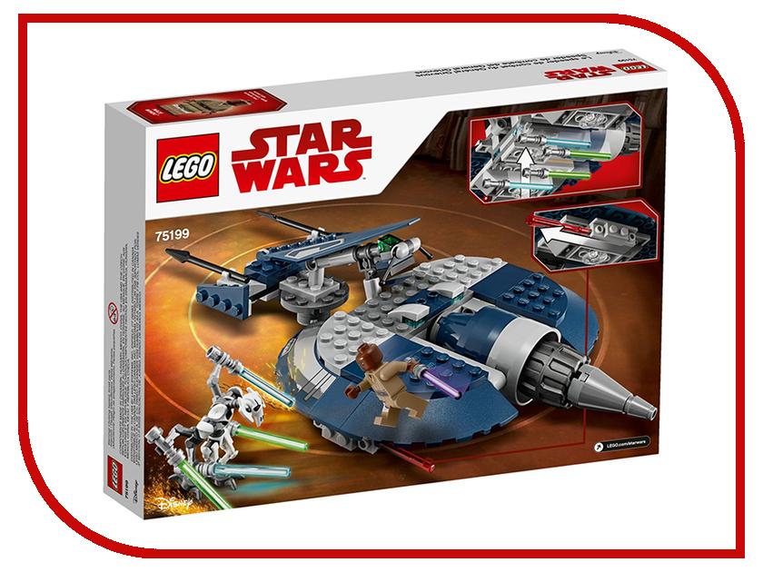 Конструктор Lego Star Wars Боевой спидер генерала Гривуса 75199
