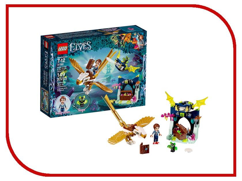Конструктор Lego Elves Побег Эмили на орле 41190