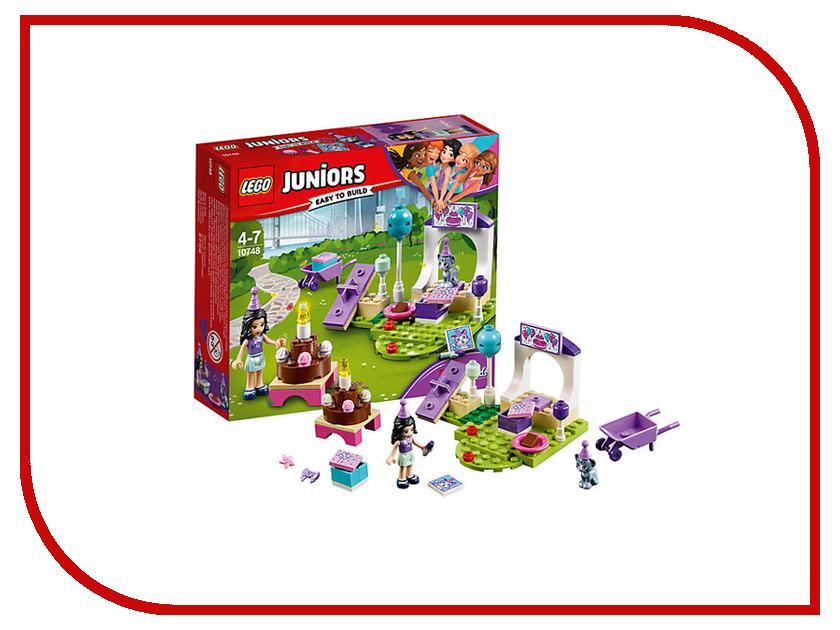 Конструктор Lego Juniors Вечеринка Эммы для питомцев 10748