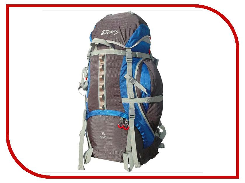 Рюкзак Nova Tour Альфа 85 V2 Grey-Blue 95312-463-00