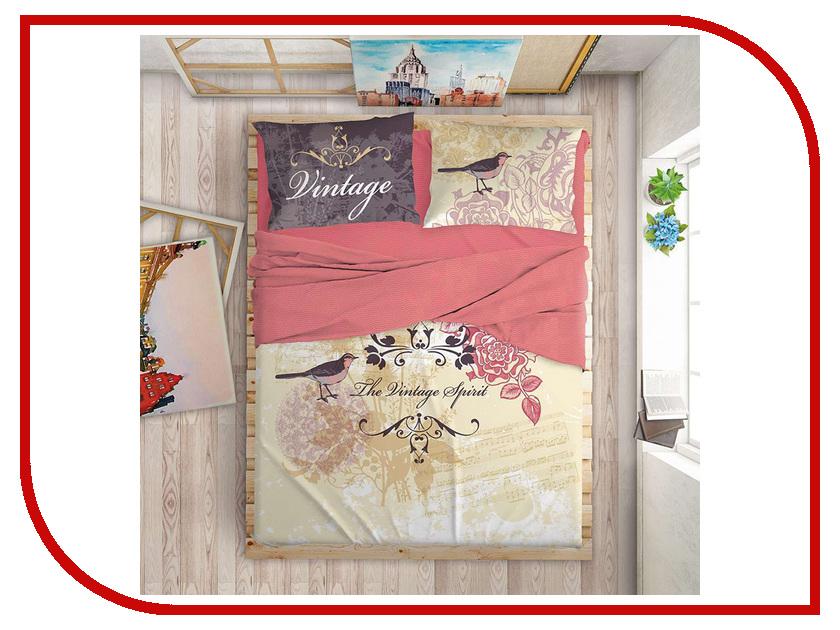 Постельное белье LOVE ME Mockingbird Комплект 1.5 спальный Перкаль 711538 комплект постельного белья love me евро перкаль tropic 198862 711079