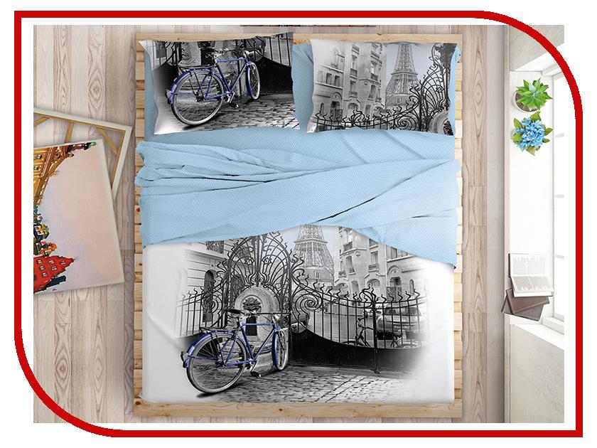 Постельное белье LOVE ME Fontaine Комплект 2 спальный Перкаль 711562 комплект постельного белья love me евро перкаль tropic 198862 711079