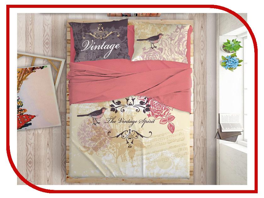 Постельное белье LOVE ME Mockingbird Комплект 2 спальный Перкаль 711074