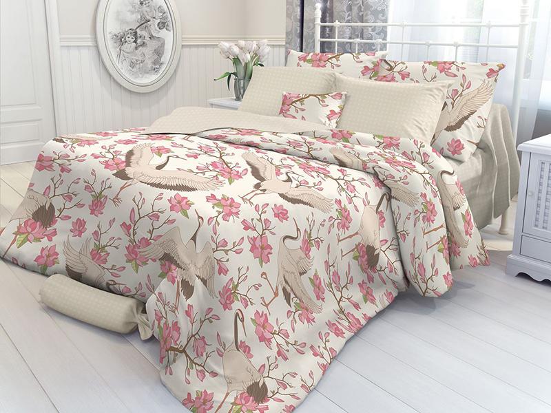 купить Постельное белье Verossa Constante Magnolia Комплект 2 спальный Перкаль 707017 по цене 1900 рублей