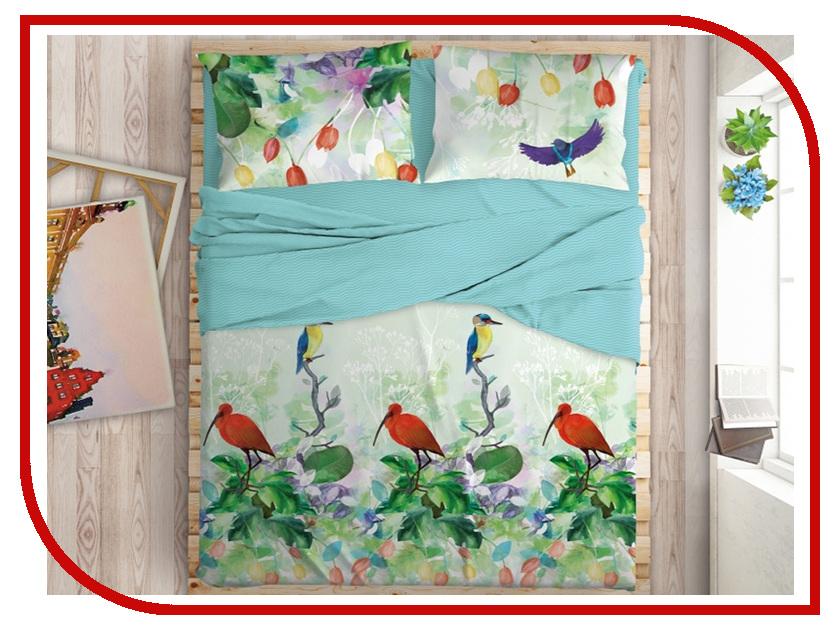Постельное белье LOVE ME Tropic Комплект Евро Перкаль 711027 майка борцовка print bar flower tropic