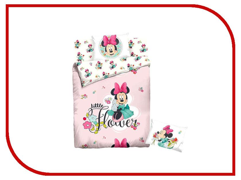 Постельное белье Disney Minnie Little Flower Комплект 1.5 спальный Ранфорс 707496 постельное белье disney bratzillaz witches blue page 7