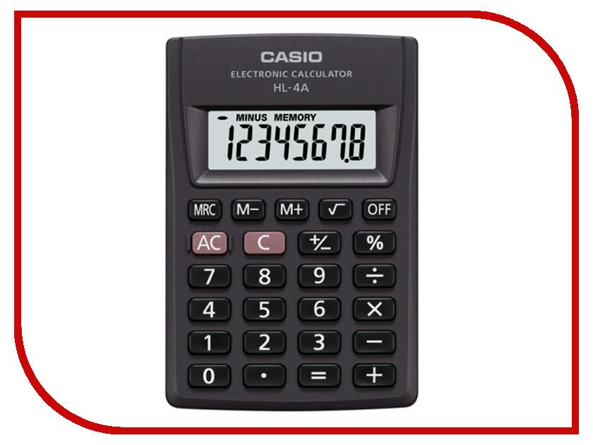 Калькулятор Casio HL-4A casio bga 220 4a