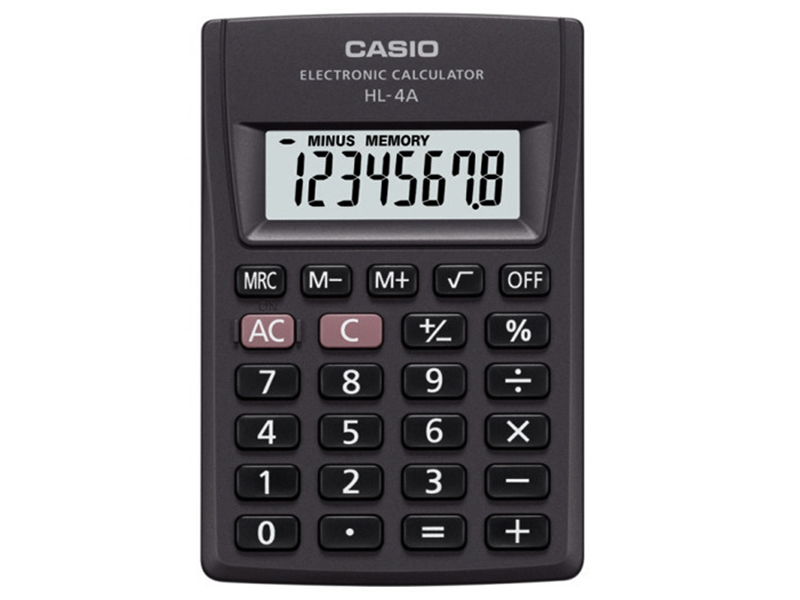 Калькулятор Casio HL-4A калькулятор casio fx 82sx plus