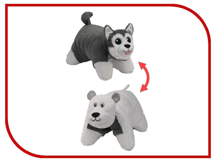 Игрушка 1Toy Вывернушка 2в1 Хаски - Полярный Медведь Т12043 цена