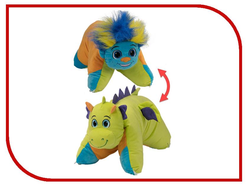 Игрушка 1Toy Вывернушка 2в1 Разноцветный Тролль - Салатовый Дракон Т12044 игра 1toy сумочка furby волна т57556