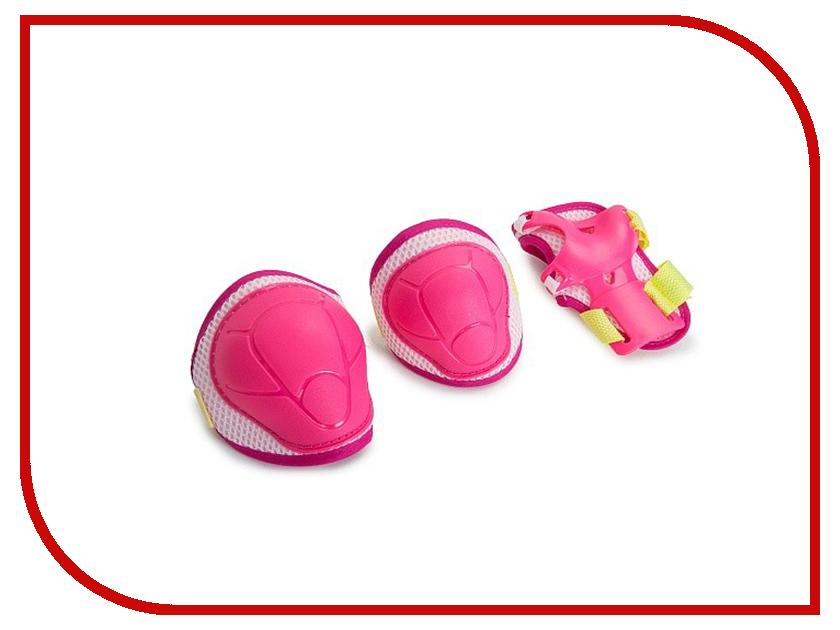 Комплект защиты Защита роликовая Start Up Kiddy M Pink