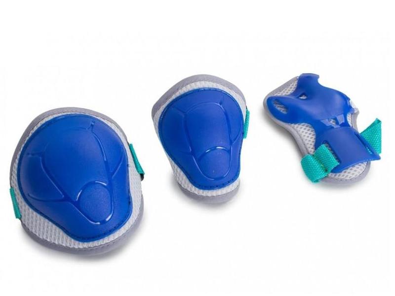 Комплект защиты Защита роликовая Start Up Kiddy M Blue