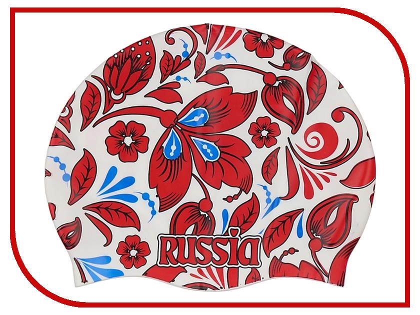 Шапочка Larsen Russia LS76 White-Red