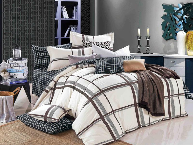 цена Постельное белье Cleo 20/391-SK Комплект 2 спальный Сатин Печатный онлайн в 2017 году