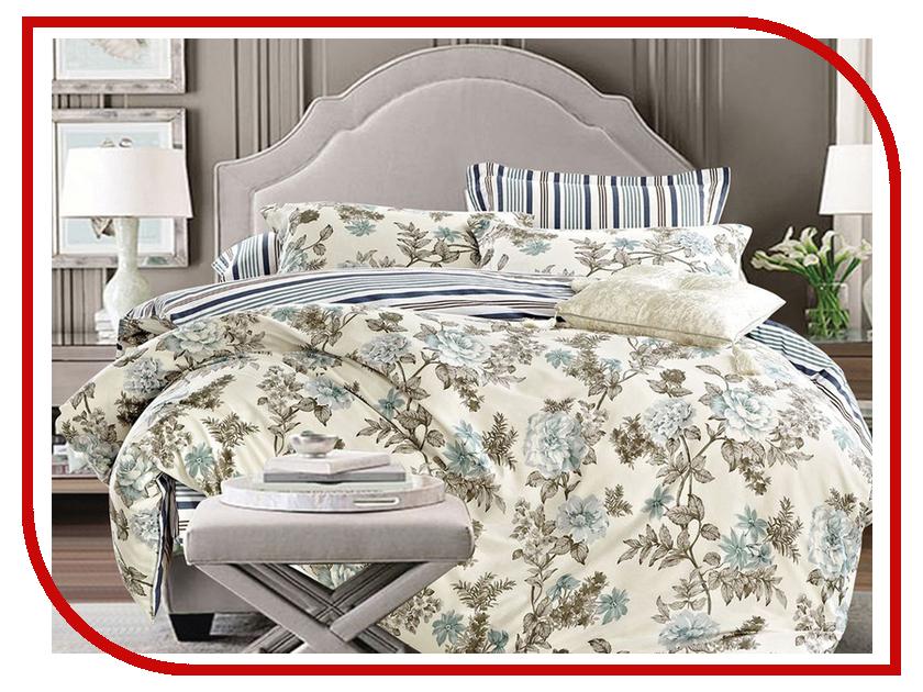 Постельное белье Cleo 15/418-SK Комплект 1.5 спальный Сатин Печатный комплект полутораспальный cleo 328 sk