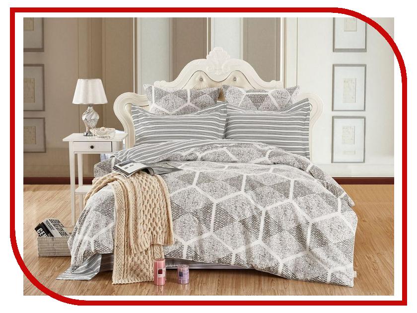 Постельное белье Cleo 15/401-SK Комплект 1.5 спальный Сатин Печатный комплект двуспальный cleo 350 sk