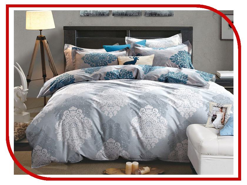 Постельное белье Cleo 15/400-SK Комплект 1.5 спальный Сатин Печатный постельное белье cleo 15 043 sr комплект 1 5 спальный сатин