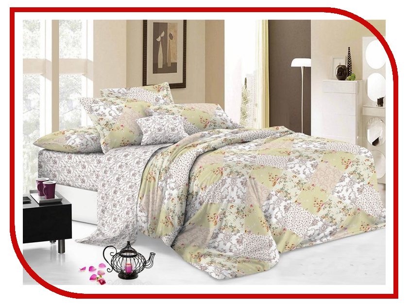 Постельное белье Cleo Pure cotton 15/010-PC Комплект 1.5 спальный Поплин каталог cleo