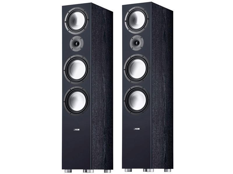 Колонки Canton GLE 496.2 (2шт) Black настенная акустика canton gle 417 2 onwall white