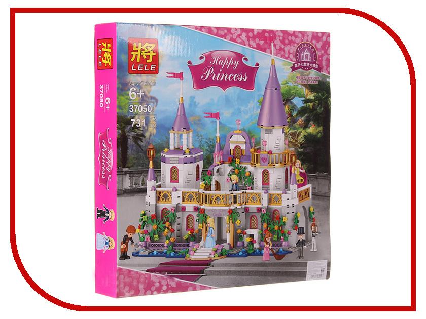 Конструктор Lele Happy Princess 37050 Замок конструктор lele my world 33077 дом на побережье