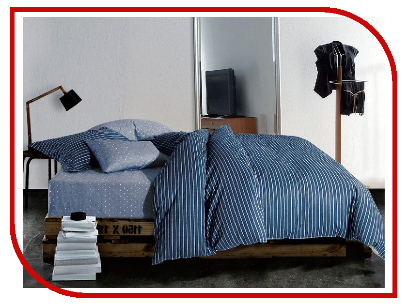 Постельное белье Cleo 31/027-SR Комплект Евро Сатин постельное белье cleo 15 043 sr комплект 1 5 спальный сатин
