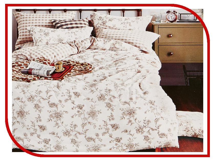 Постельное белье Cleo 15/058-SR Комплект 1.5 спальный Сатин постельное белье cleo 15 043 sr комплект 1 5 спальный сатин