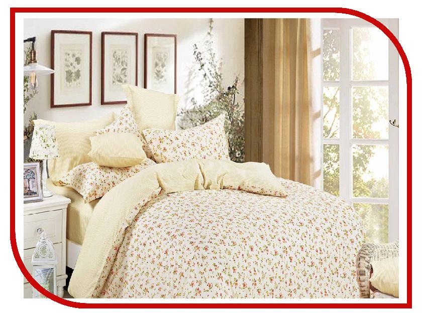 Постельное белье Cleo 15/043-SR Комплект 1.5 спальный Сатин постельное белье cleo 20 043 sr комплект 2 спальный сатин