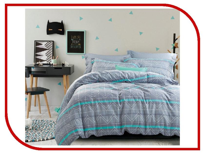 Постельное белье Cleo 15/036-SR Комплект 1.5 спальный Сатин постельное белье cleo 20 043 sr комплект 2 спальный сатин