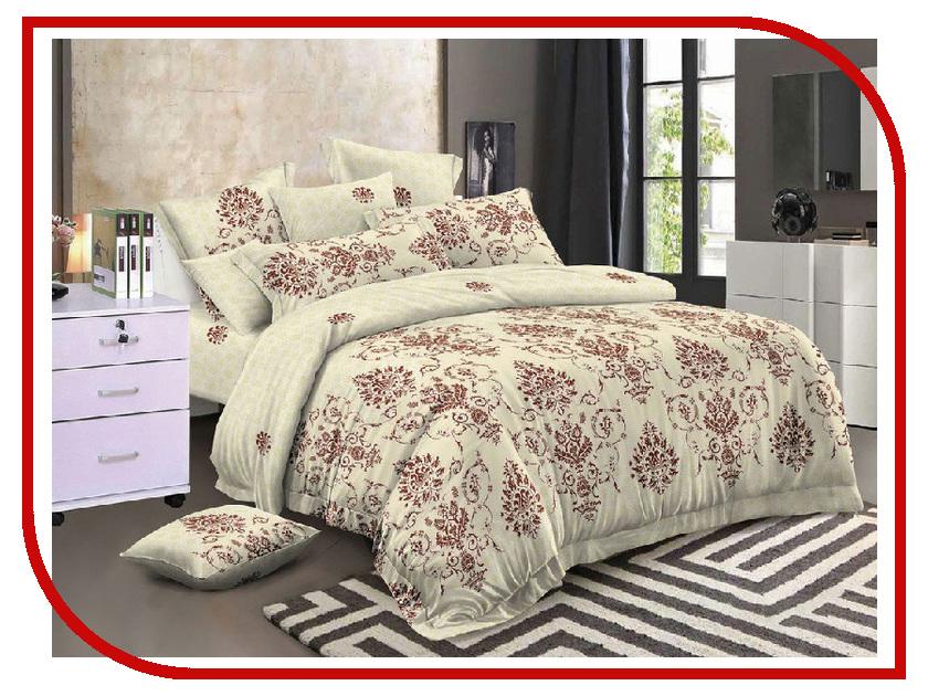Постельное белье Cleo 31/184-PS Комплект Евро Полисатин постельное белье эго комплект 1 5 спальный полисатин