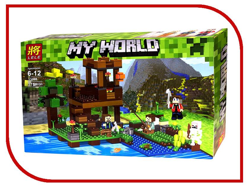 Конструктор Lele My World На рыбалке 375 дет. 33095 конструктор lele my world на рыбалке 375 дет 33095