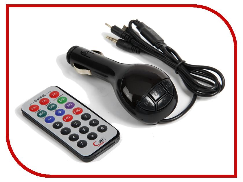 FM-Трансмиттер СИМА-ЛЕНД USB/Mp3/WMA/MicroSD Black 2506790