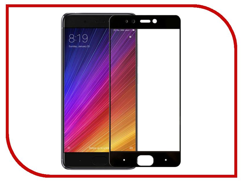 Аксессуар Стекло противоударное для Xiaomi Mi 5S Gurdini 2D Full Screen 0.26mm Black 903125 аксессуар стекло противоударное gurdini 6d full screen 0 26mm для apple iphone 6 6s plus black