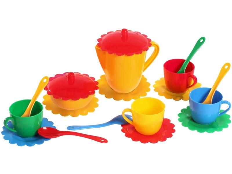 Набор посуды Тигрес Ромашка на 4 персоны Большой 39091