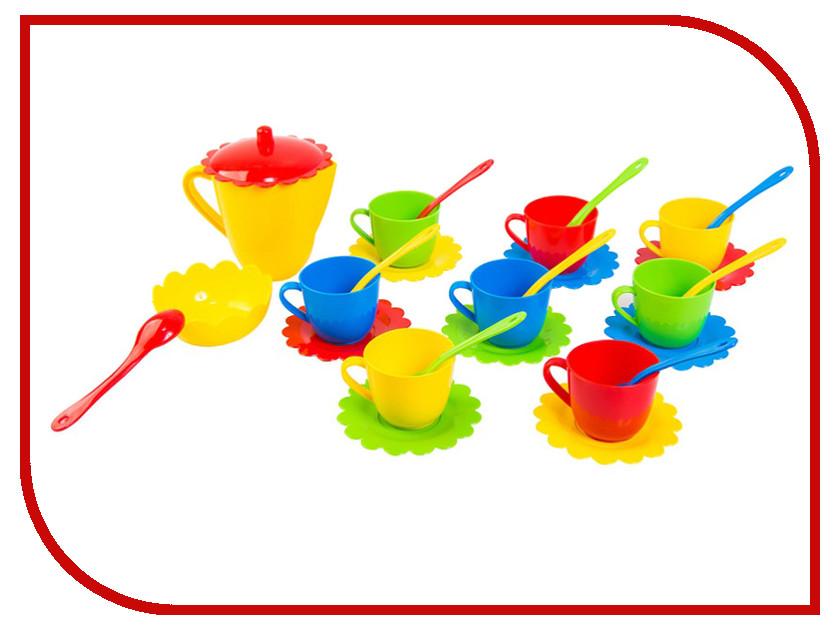 Игра Тигрес Набор посуды Ромашка в коробке 28 эл. 39131