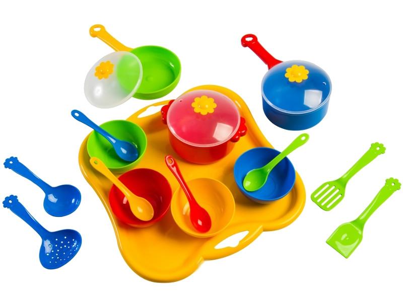 Набор посуды Тигрес Ромашка 19 эл. 39146 игра тигрес набор посуды ромашка на 4 персоны 39081