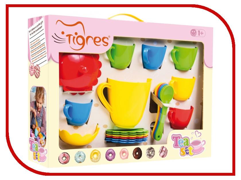 Игра Тигрес Набор посуды Ромашка в коробке 28 эл. 39391