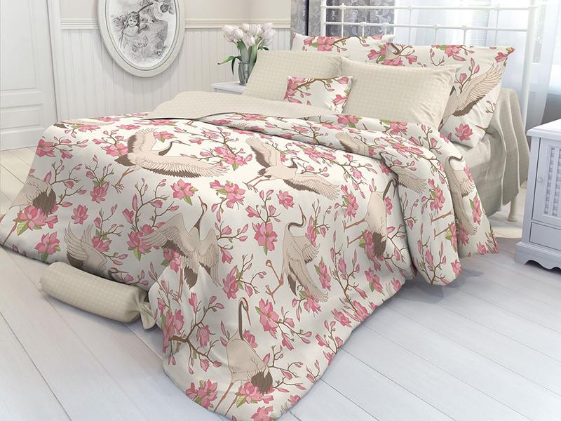 купить Постельное белье Verossa Constante Magnolia Комплект 1.5 спальный Перкаль 706989 по цене 1558 рублей