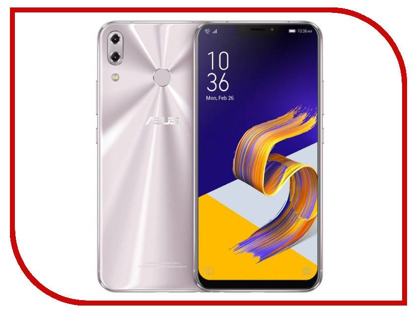 Сотовый телефон ASUS ZenFone 5 ZE620KL 4/64GB Silver сотовый телефон asus zenfone max m1 zb555kl 16gb