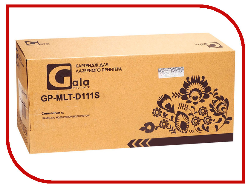 Картридж GalaPrint GP-MLT-D111S для Samsung Xpress M2020/M2022/M2070 1000k 2 set for samsung mlt d111s d111 mlt d111s toner cartridge for samsung xpress m2070 m2070fw m2071fh m2020 m2020w m2021 m2022