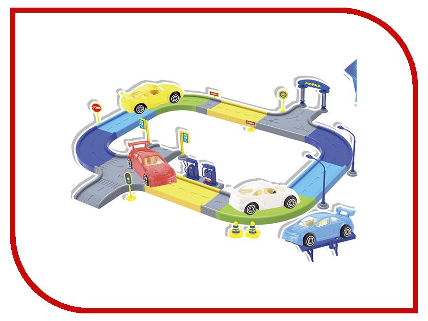 Автотрек Город игр Автогород Фиксики GI-6323 головоломка город игр фиксики змейка pink gi 6389